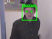 Video: Face Recognition at Door